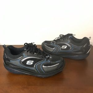 Skechers Shape Ups Shape-Ups Black shoes 9.5